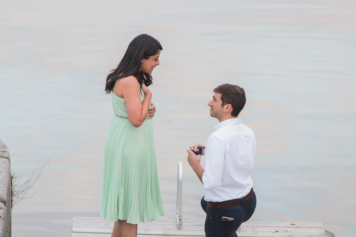 Marriage Proposal Ideas in Montreal Old Port