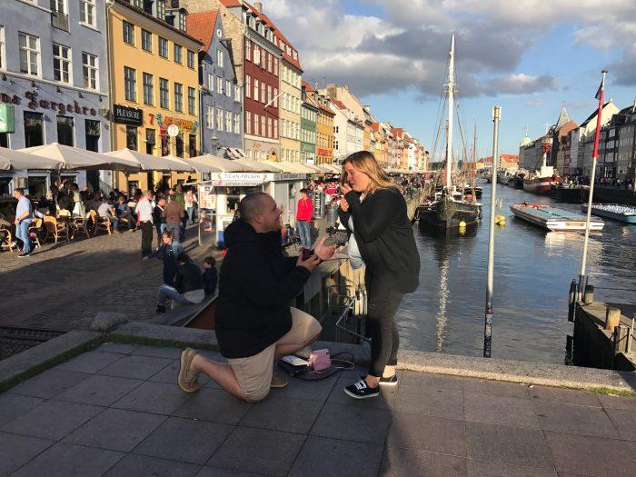 Nina and Edward's Engagement in Copenhagen, Denmark