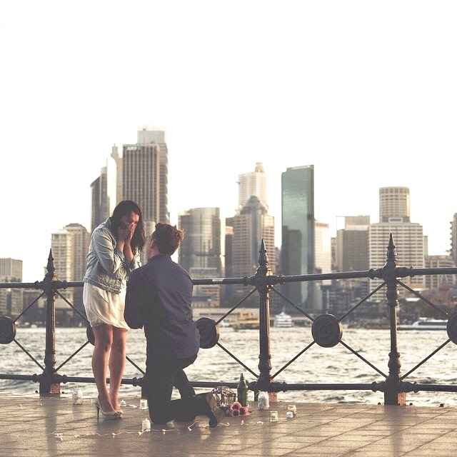 Wedding Proposal Ideas in Sydney, Australia