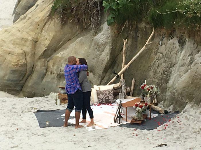 Courtney's Proposal in Carmel, CA