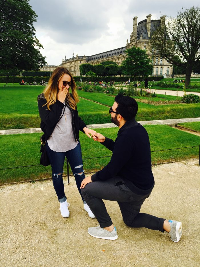 Chloe's Proposal in Paris