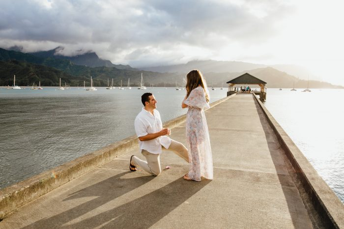 Hannah's Proposal in Kauai
