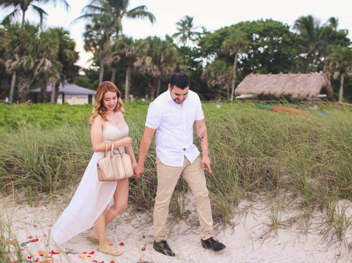 Thania's Proposal in Naples, Florida