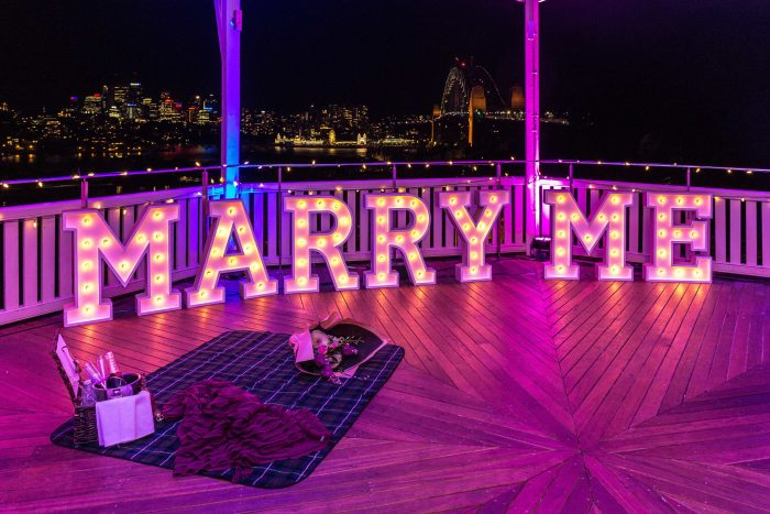 Wedding Proposal Ideas in Sydney