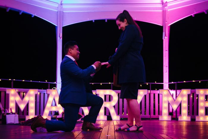 Jessica's Proposal in Sydney