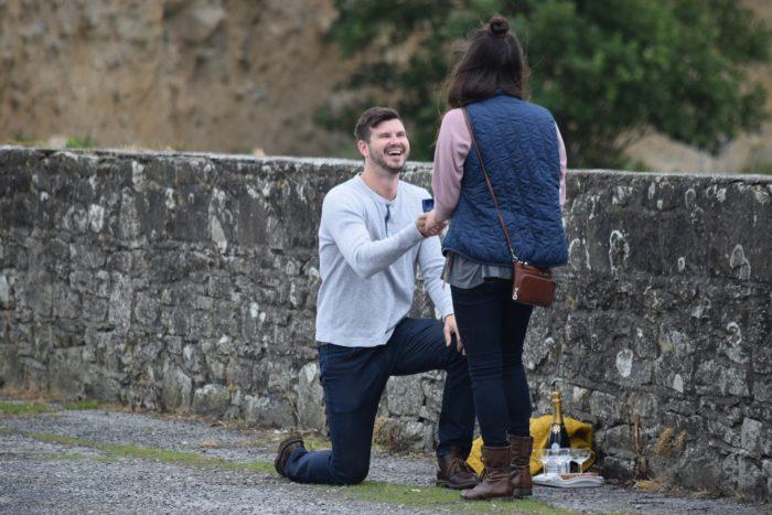 MaryAnn and Jordan's Engagement in Shannon River, Ireland