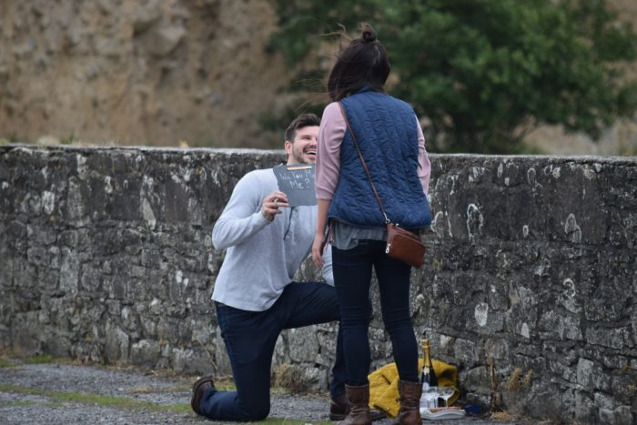 Marriage Proposal Ideas in Shannon River, Ireland