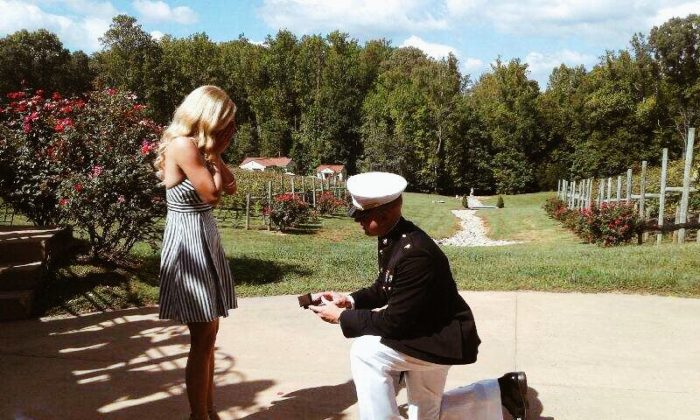 Marriage Proposal Ideas in Potomac Point Winery