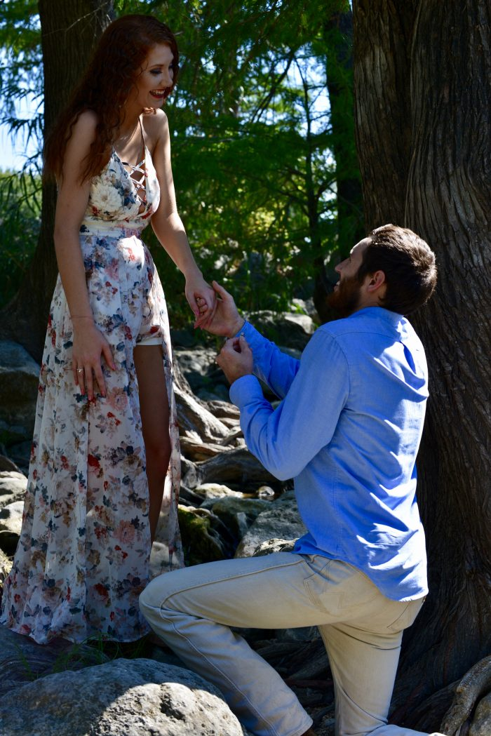 Where to Propose in Gruene Historic District in Texas
