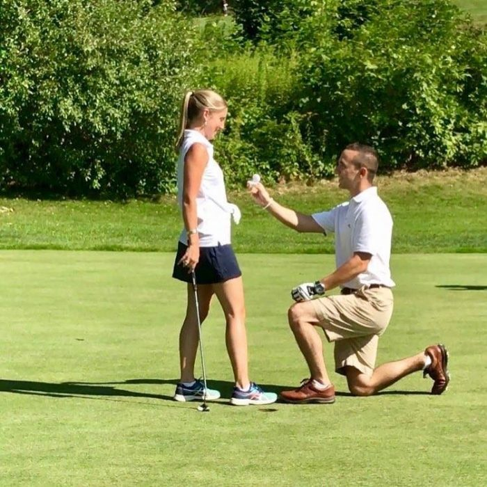 Wedding Proposal Ideas in Cyprian Keyes Golf Club