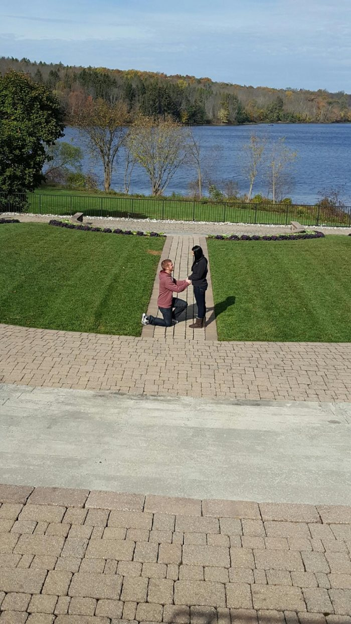 Engagement Proposal Ideas in Lake House Inn