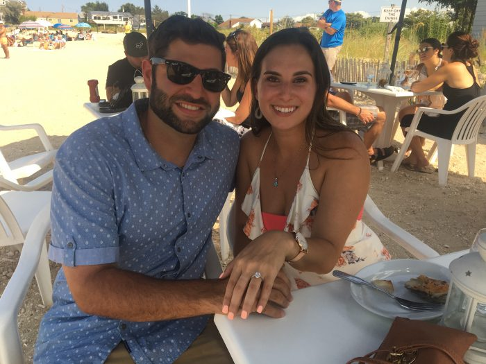 Dylan's Proposal in Walls Wharf in Bayview NY