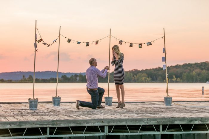 Meghan's Proposal in Table Rock Lake