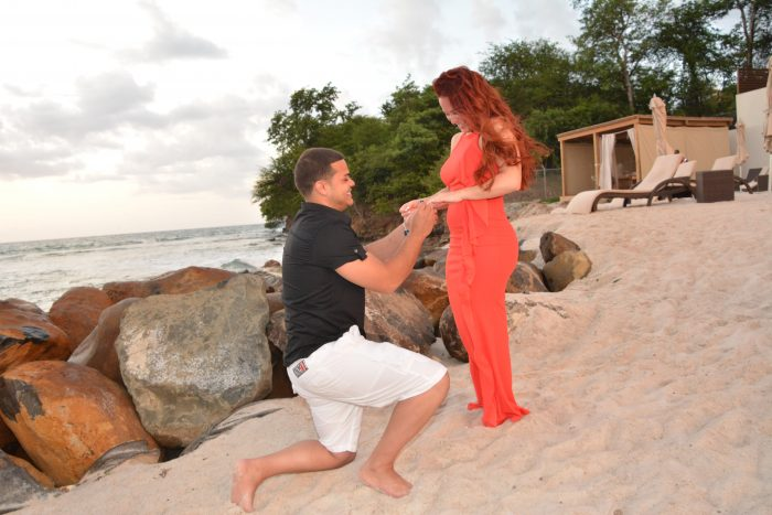 Stephanie's Proposal in St. Lucia