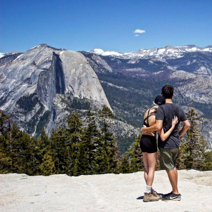Katie and Kyle's Engagement in Yosemite National Park