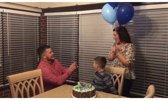 Wedding Proposal Ideas in Our home