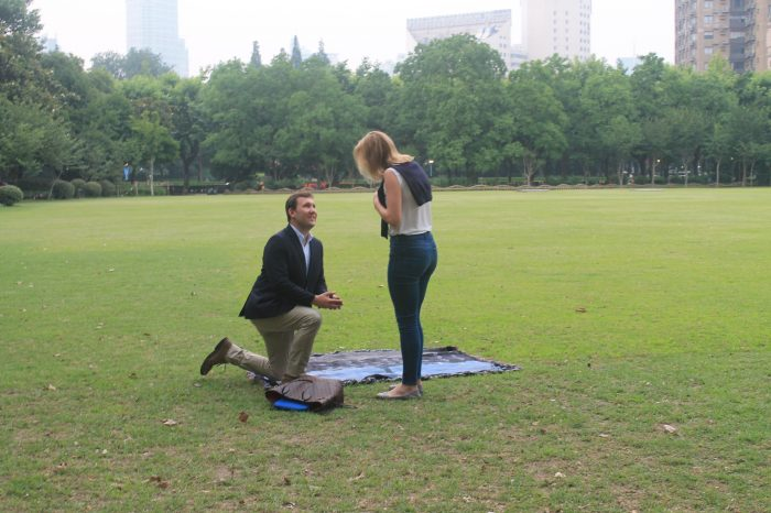 Marriage Proposal Ideas in Shanghai, China