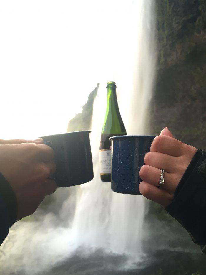 Proposal Ideas Seljalandsfoss Waterfall, Iceland