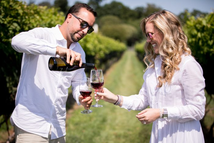 Wedding Proposal Ideas in Beneduce Winery in NJ