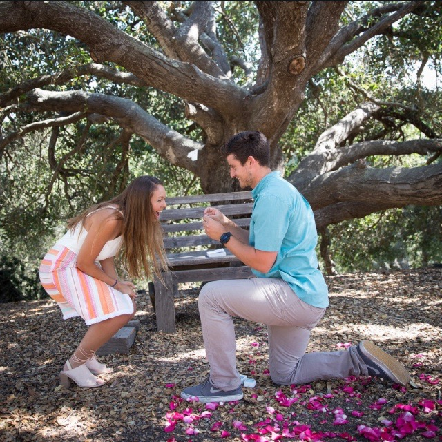 Blake's Proposal in Santa Barbara, California