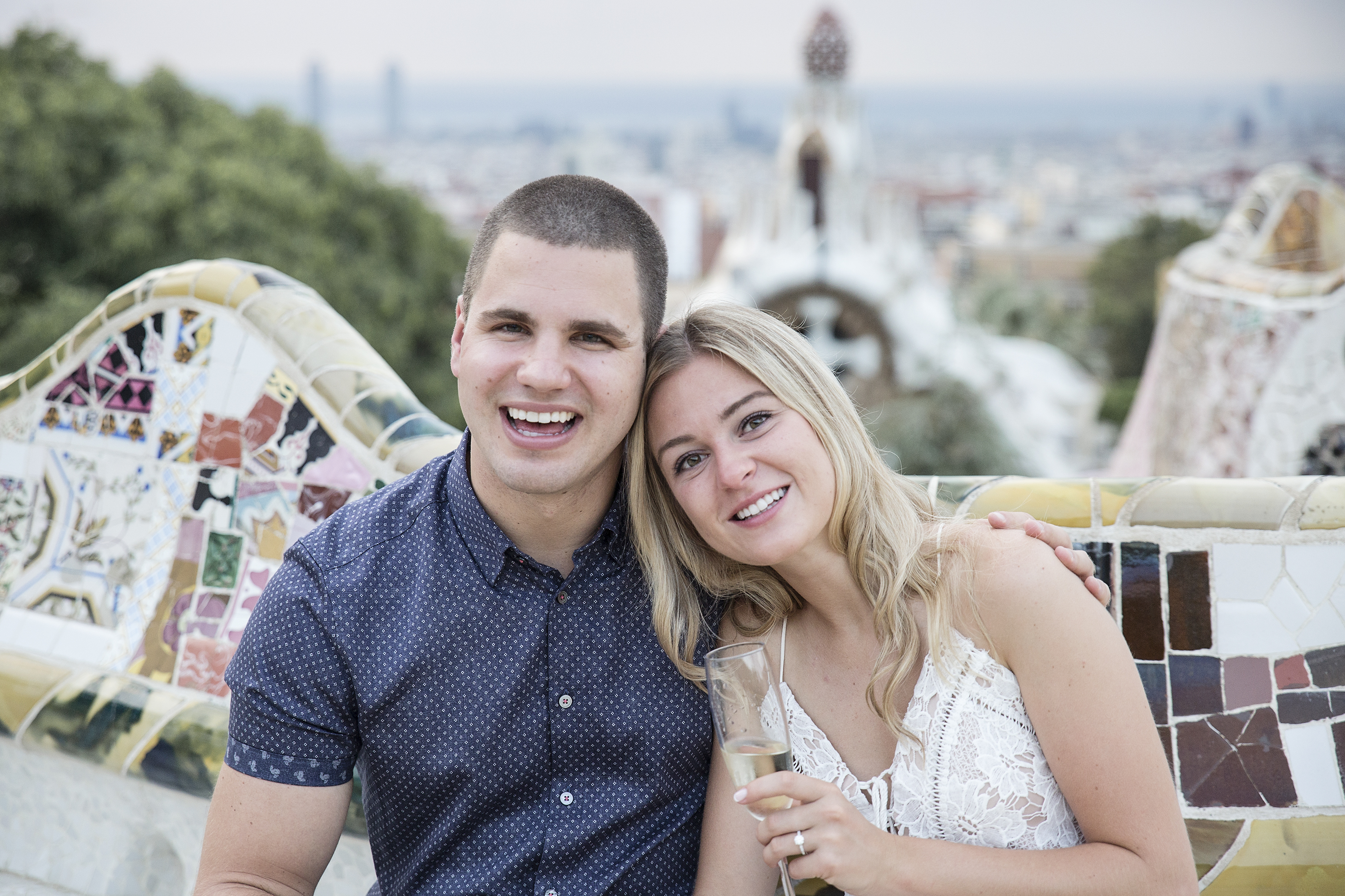 Julia's Proposal in Barcelona