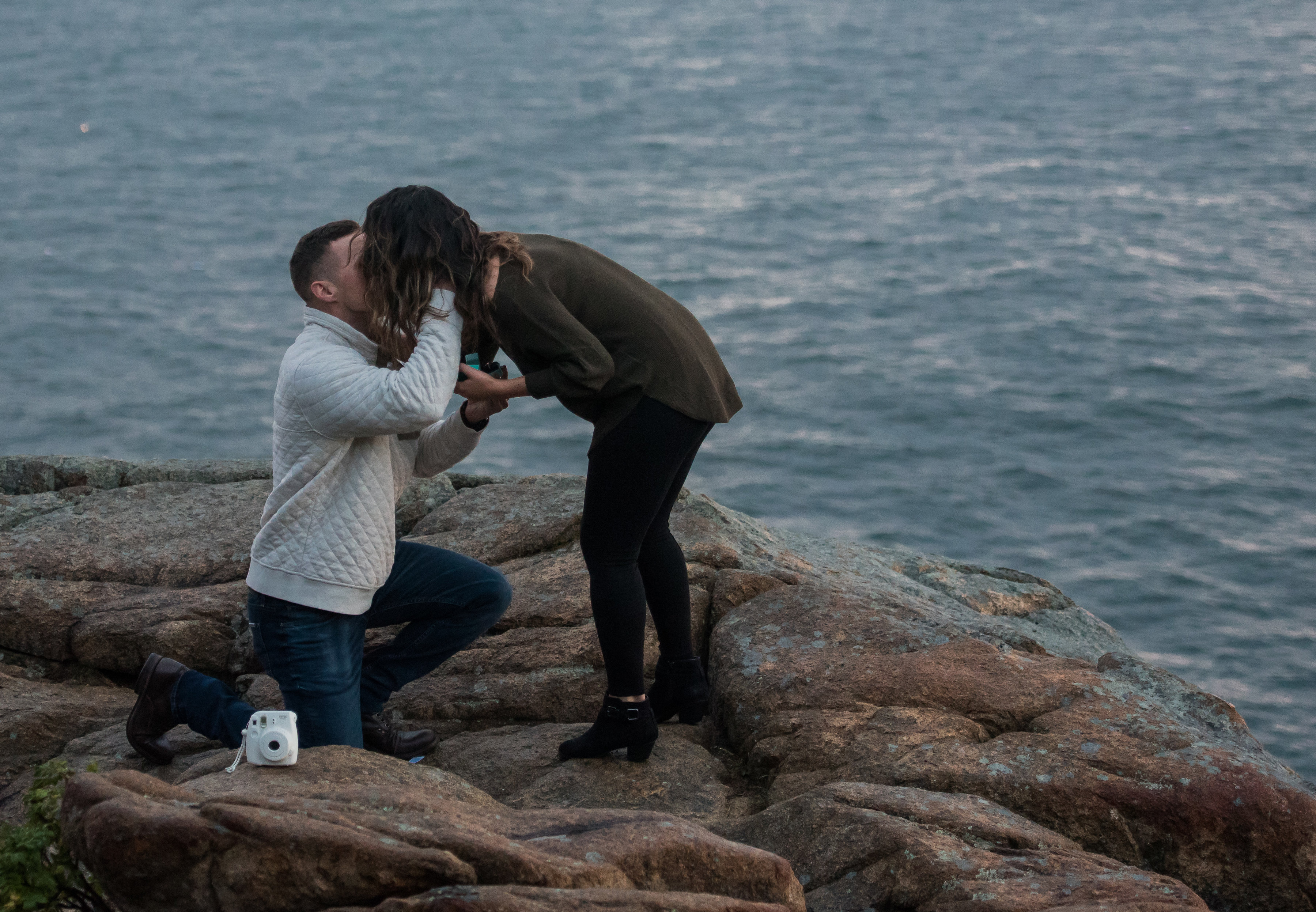 Bethany and Luke's Engagement in Bar Harbor, Maine