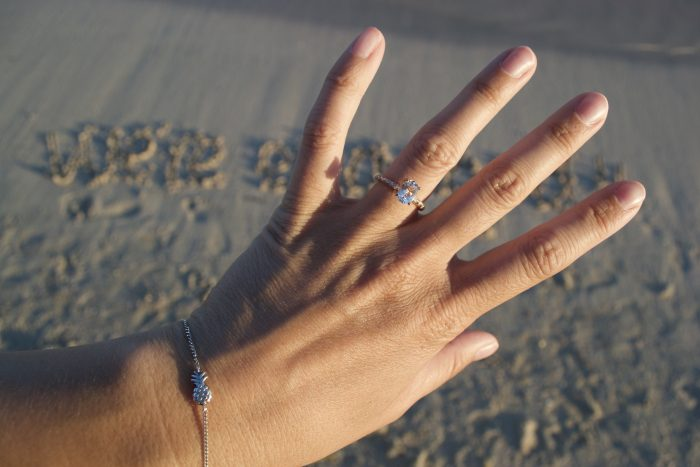 Lisa's Proposal in Elafonisi Beach, Crete Island, Grece
