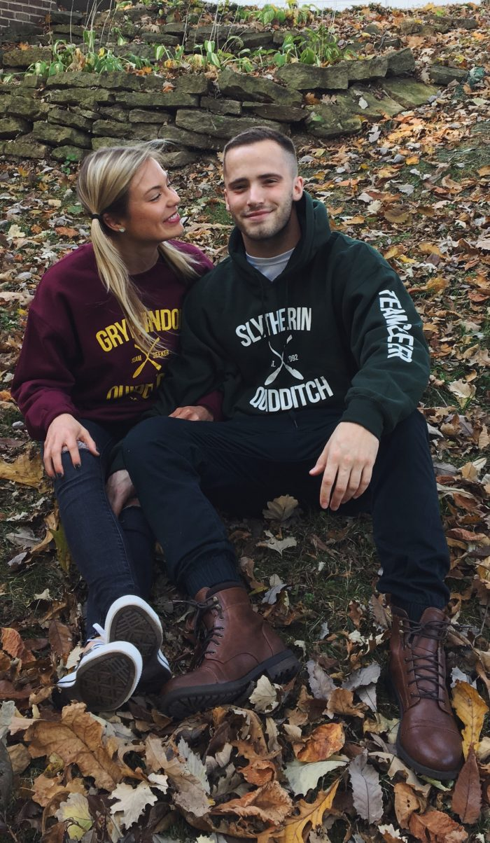 Courtney's Proposal in Sleeping Bear Dunes in Empire, Michigan