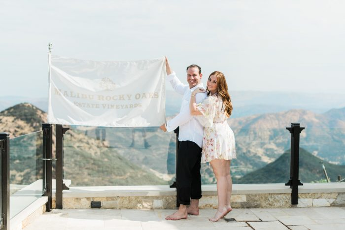 Marriage Proposal Ideas in Malibu Rocky Oaks Estate Vineyard