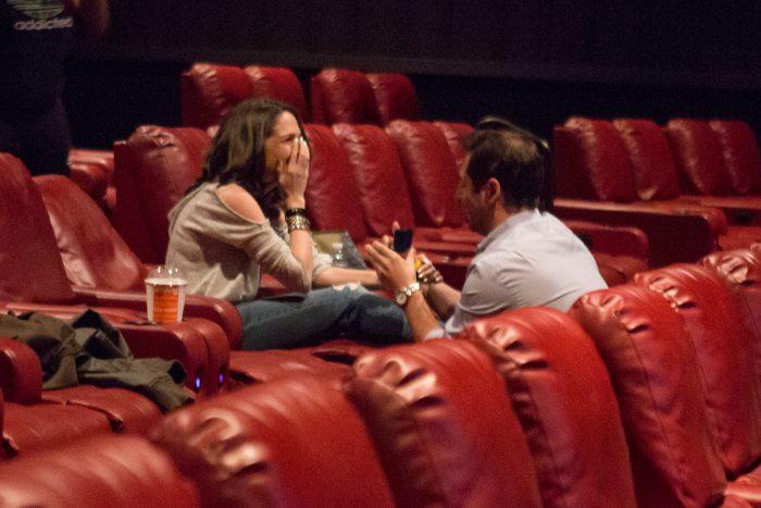 Wedding Proposal Ideas in AMC Loews Village 7 in New York City