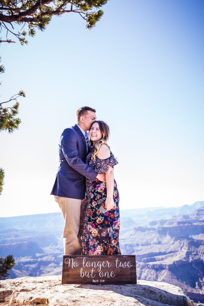 KotyPerry and Jessica's Engagement in The Grand Canyon