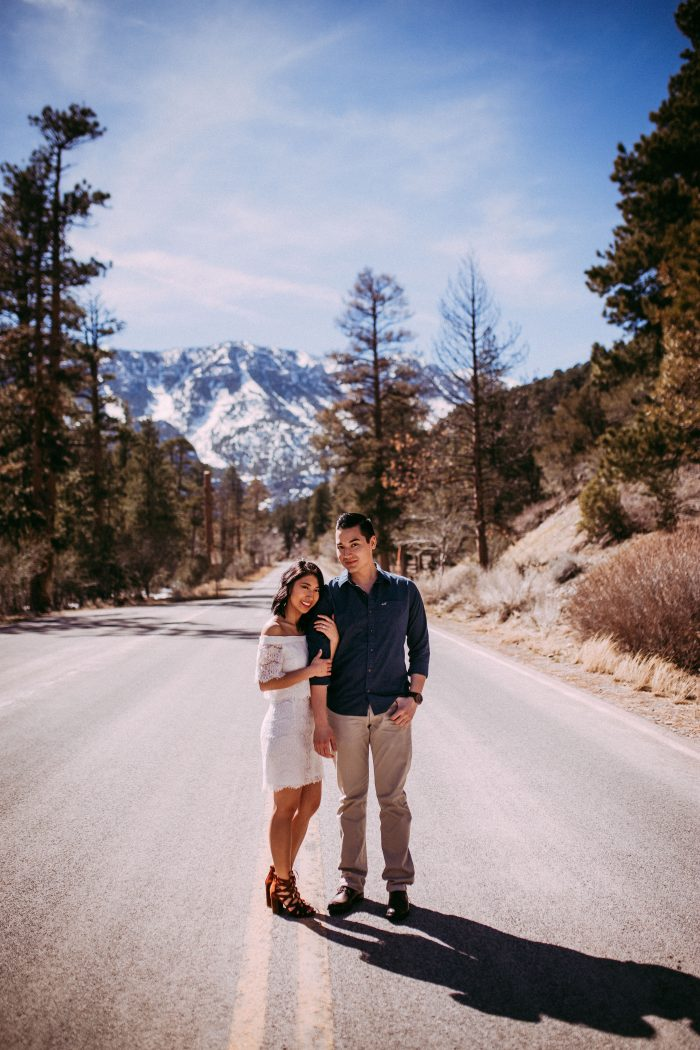 Megan and Chase's Engagement in Bonnie Springs, Red Rock Mt., Las Vegas, NV