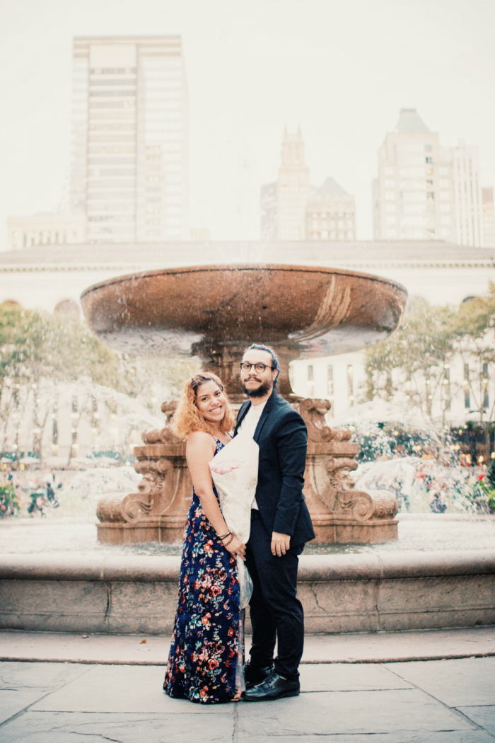 Wedding Proposal Ideas in Bryant Park, New York