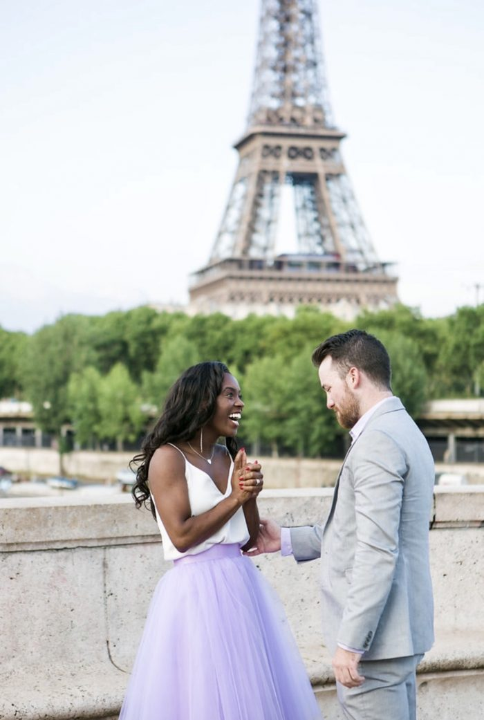 Engagement Proposal Ideas in Paris France