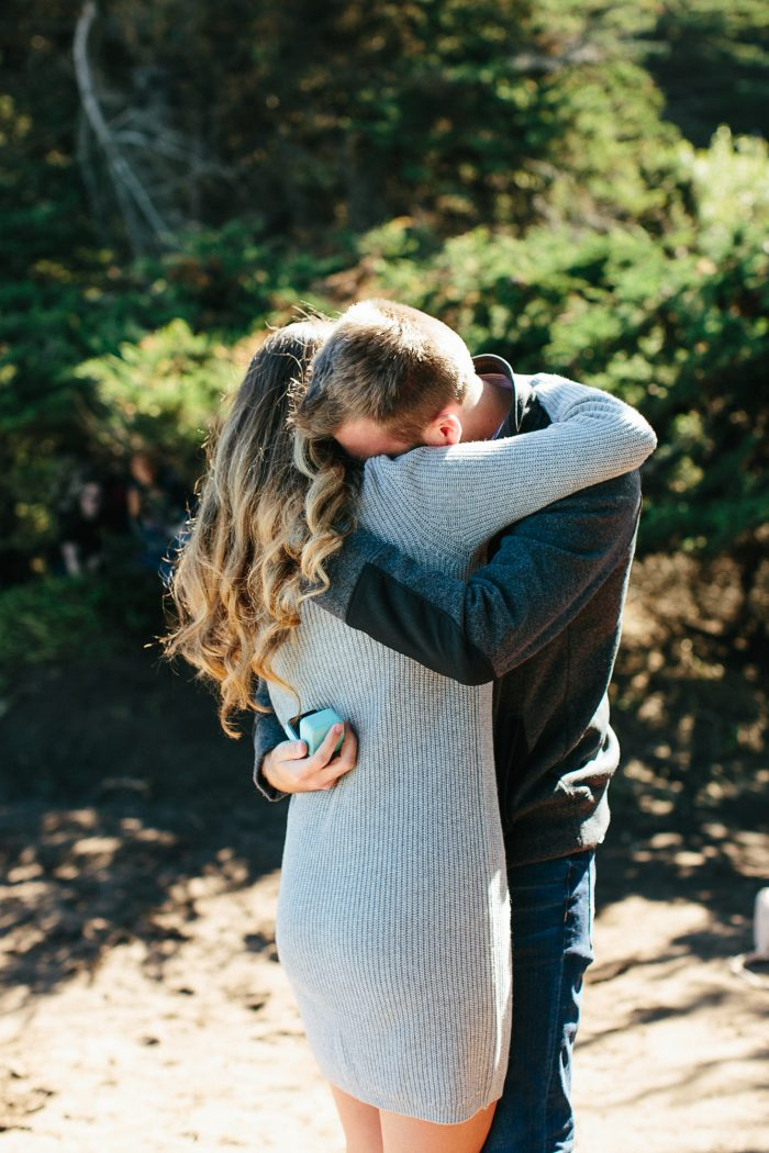 Wedding Proposal Ideas in Lands End in San Francisco