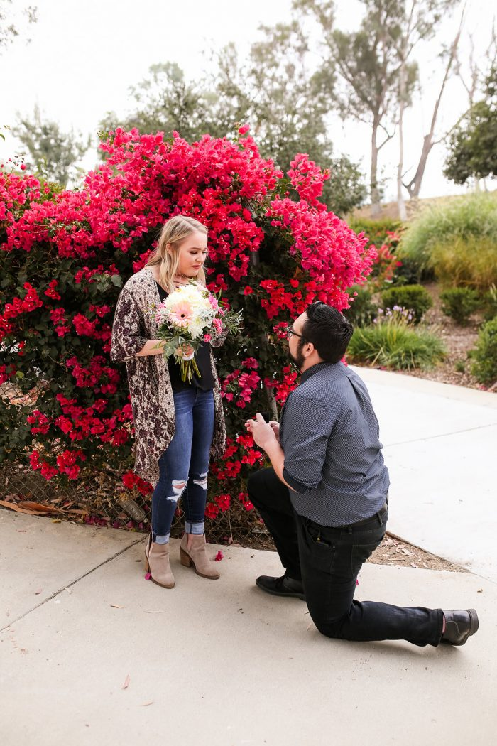 Marriage Proposal Ideas in Serrano Creek Community Park