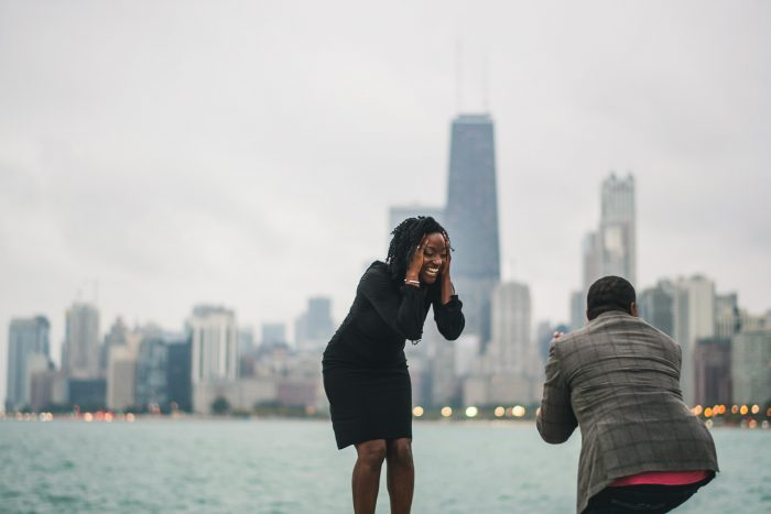 Natalie's Proposal in Chicago