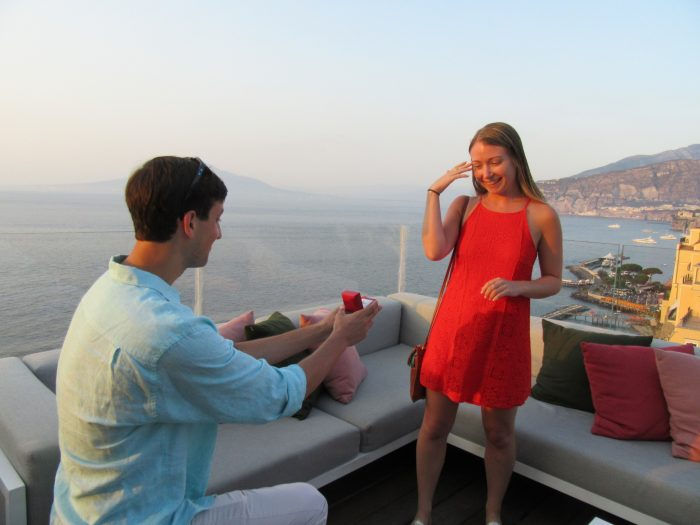Marriage Proposal Ideas in Sorrento, Italy