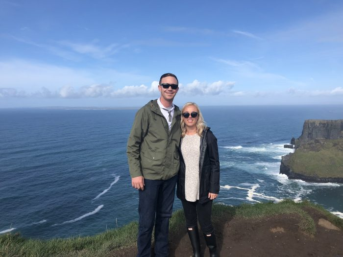 Meagan and Patrick's Engagement in Cliffs of Moher, Ireland