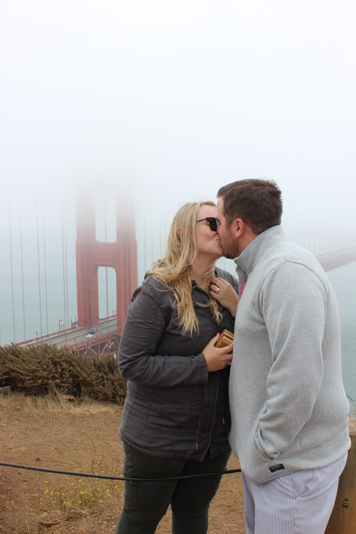 Kayla and Nick's Engagement in Golden Gate Bridge, San Francisco, California