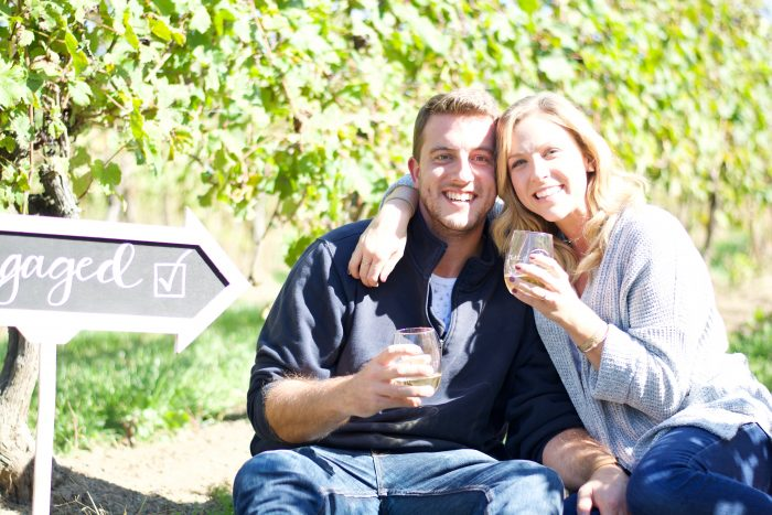 Engagement Proposal Ideas in Saltwater Farm Vineyard- Stonington, CT