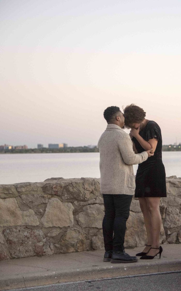 Engagement Proposal Ideas in Lake Hefner in Oklahoma