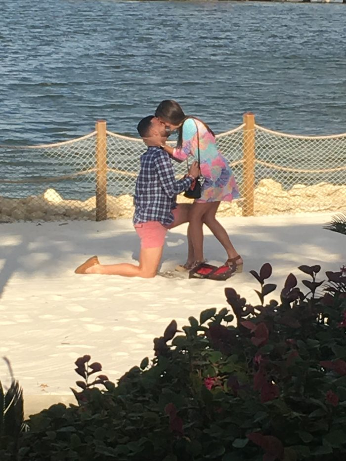 Marriage Proposal Ideas in Walt Disney World, Polynesian Resort beach