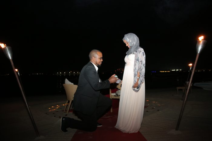 Wedding Proposal Ideas in Anantara The Palm Dubai Resort