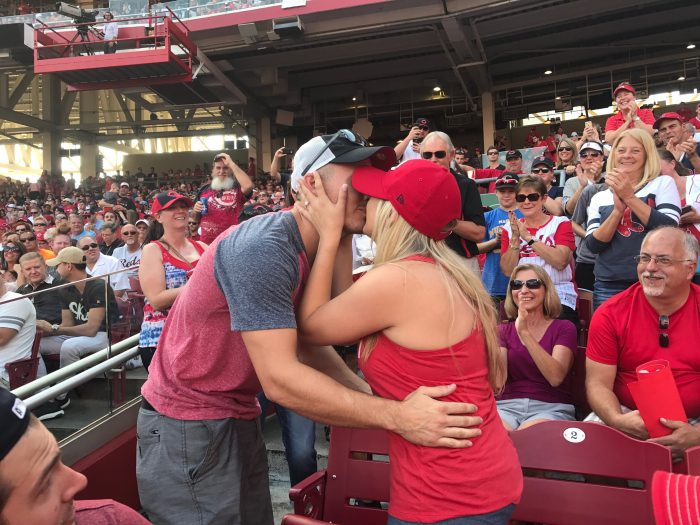Where to Propose in Great American Ball Park