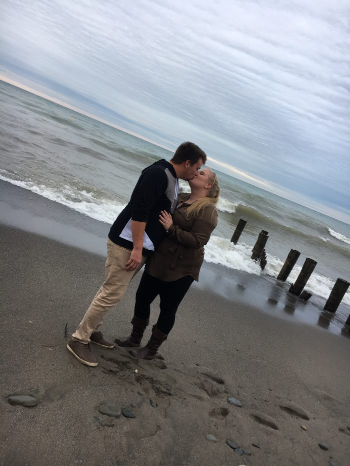Marriage Proposal Ideas in Abandon beach grimaby