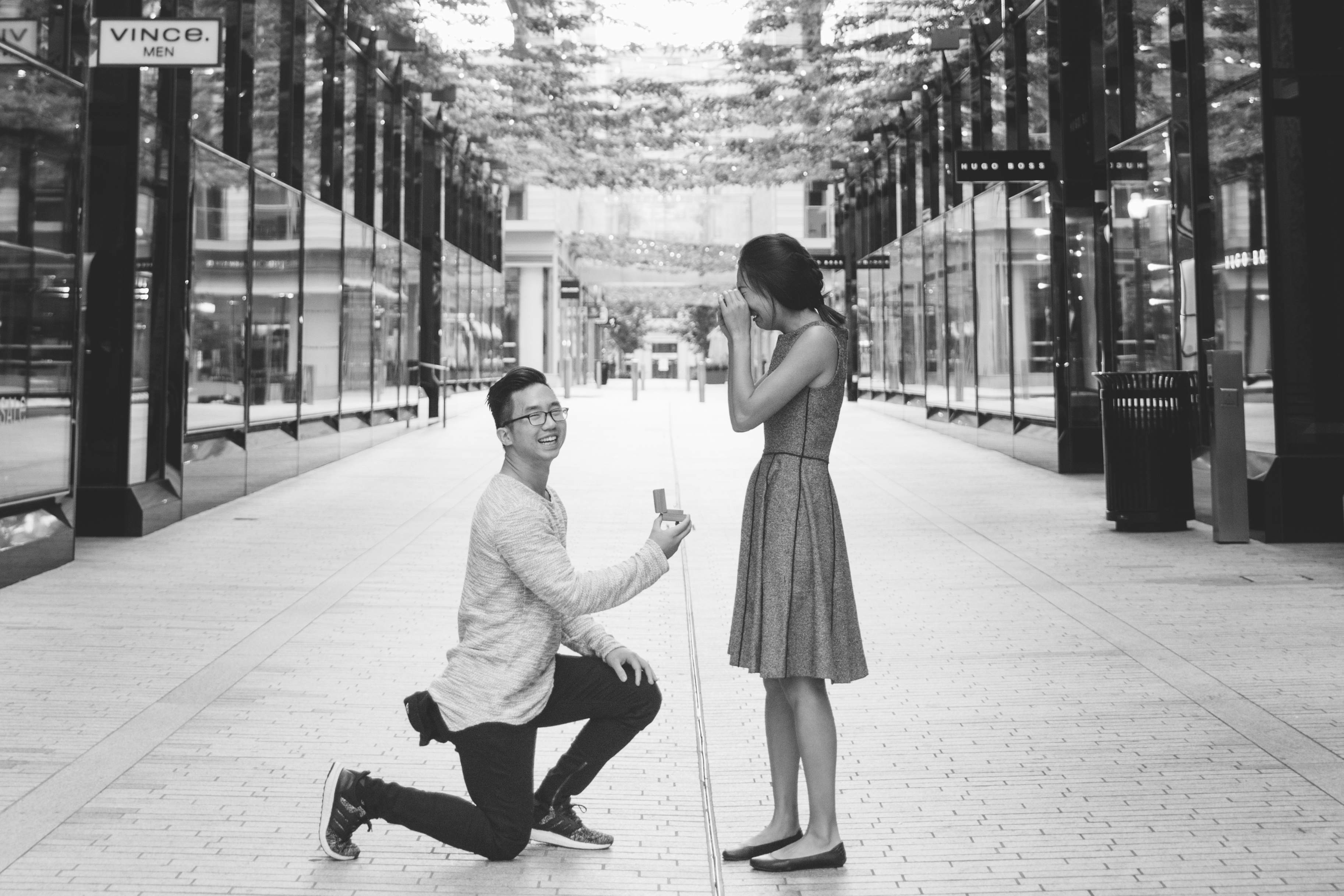 Marriage Proposal Ideas in City Center DC