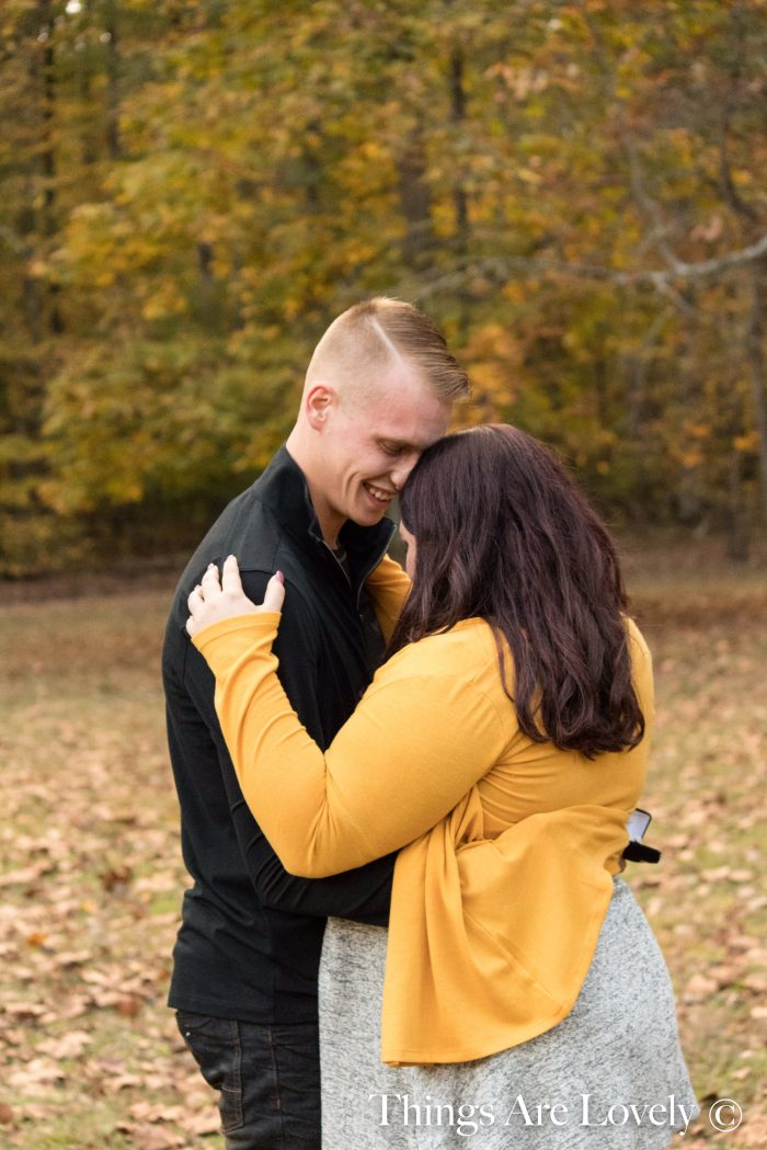 Where to Propose in Clark State Forest, Henryville, IN