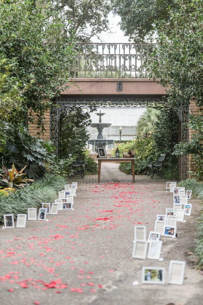 Katherine's Proposal in Bellingrath Gardens - Mobile, AL