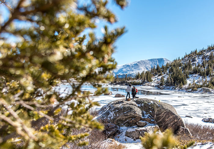 Jeremy and Tia's Engagement in Breckenridge, CO